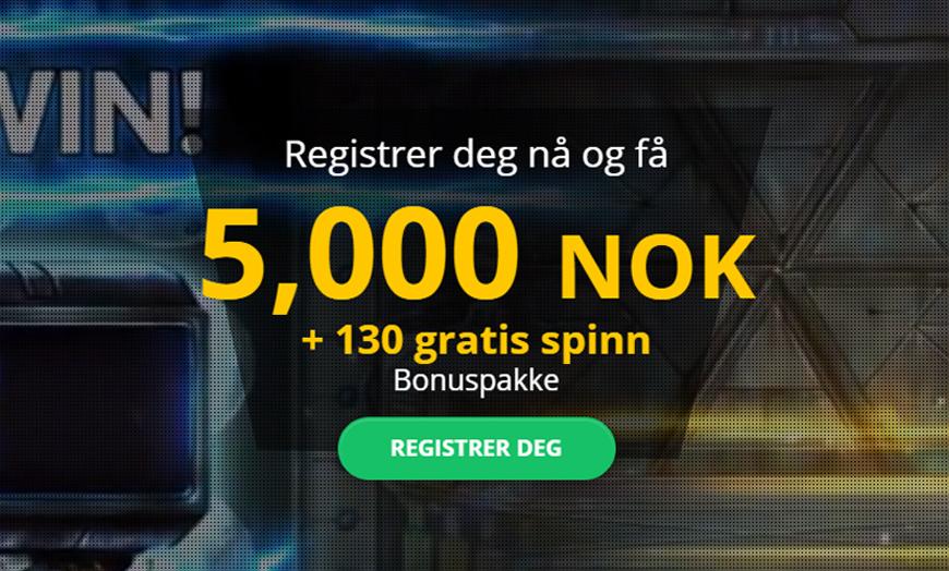 BOB Casino Banner - Norges.Casino