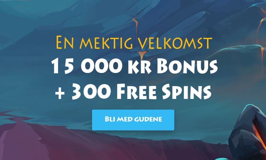Casino Gods Banner - Norges.Casino