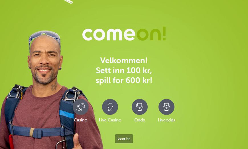 ComeOn Casino Banner - Norges.Casino