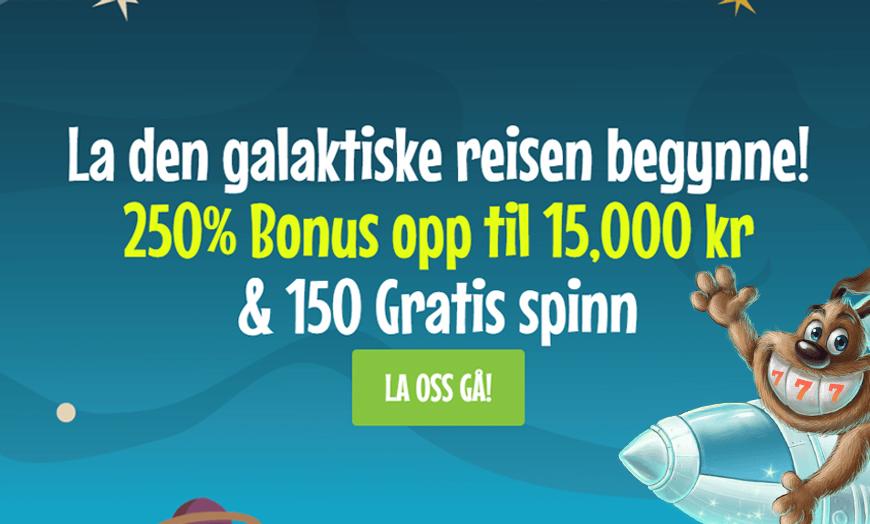 Crazyno Casino Banner - Norges.Casino