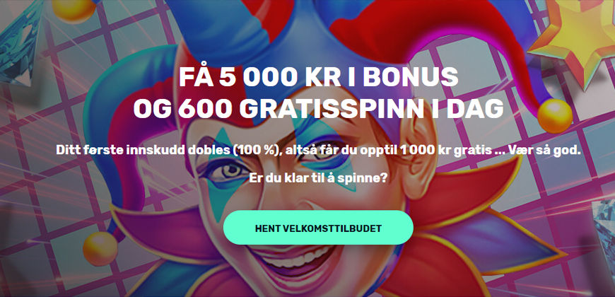 Justspin Casino Banner - Norges.Casino