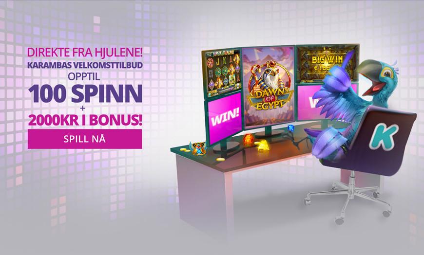 Karamba Casino Banner - Norges.Casino