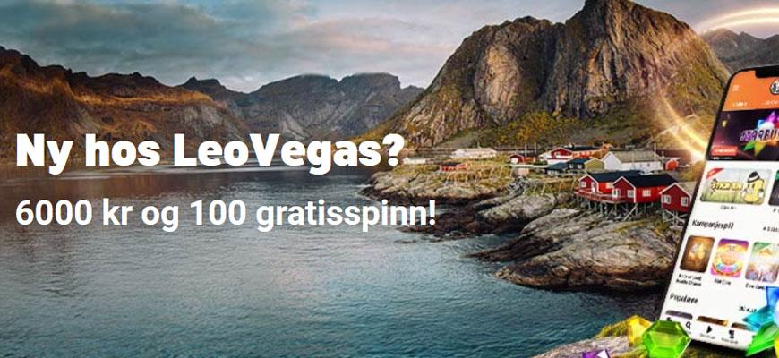 LeoVegas Casino Inner - Norges Casino