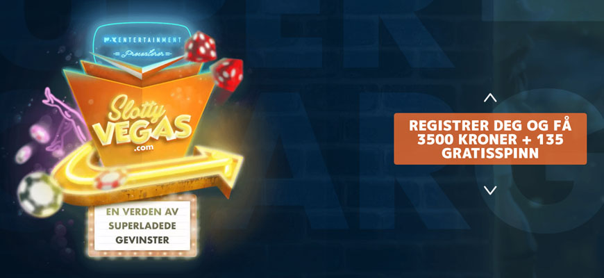 Slotty Vegas Casino Inner - Norges Casino