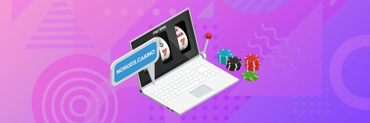 Free Spins på Online Casino Banner