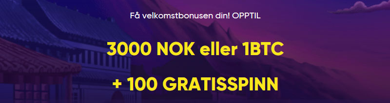 Bao Casino Banner - Norges.Casino