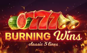 Burning Wins: classic 5 lines Image