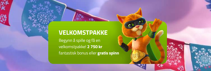 Casino Jefe Banner - Norges.Casino