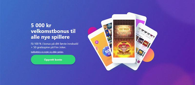 Dreamz Casino Banner - Norges.Casino