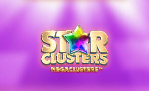 En spilleautomat du må teste er Star Clusters MegaClusters Image