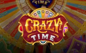 Evolution Gaming lanserer Crazy Time Image