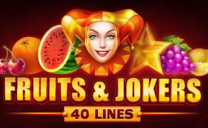 Fruits & Jokers: 40 Lines Image
