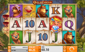 Goldilocks and the Wild Bears Image