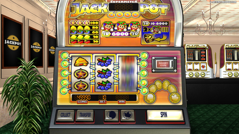Jackpot 6000 Slot - Norges.Casino