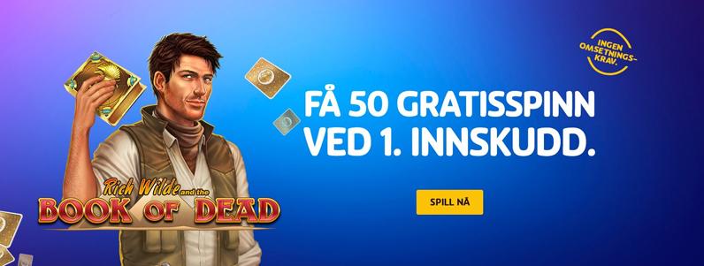 Playojo Casino Banner - Norges.Casino