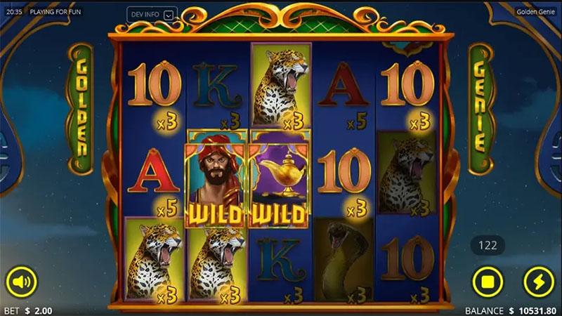 Prøv nye Golden Genie fra Yggdrasil Gaming inner - Norges.Casino