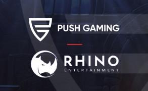 Push Gaming har inngått en avtale med Rhino Entertainment Image
