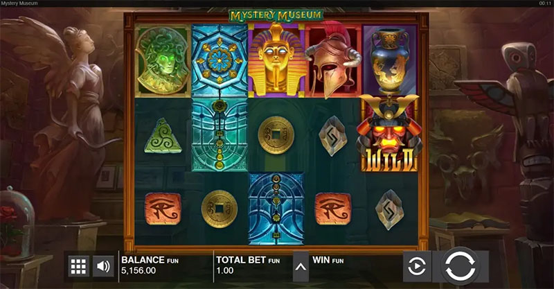 Push Gaming lanserer spilleautomaten Mystery Museum inner - Norges.Casino