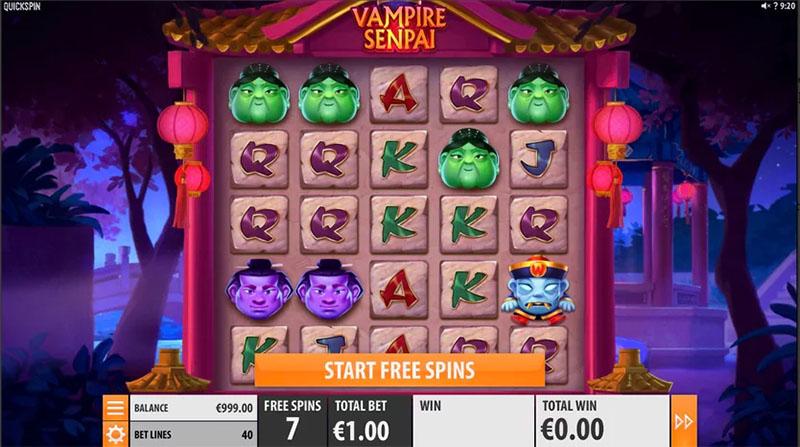 Quickspin har lansert Vampire Senpai inner - Norges.Casino