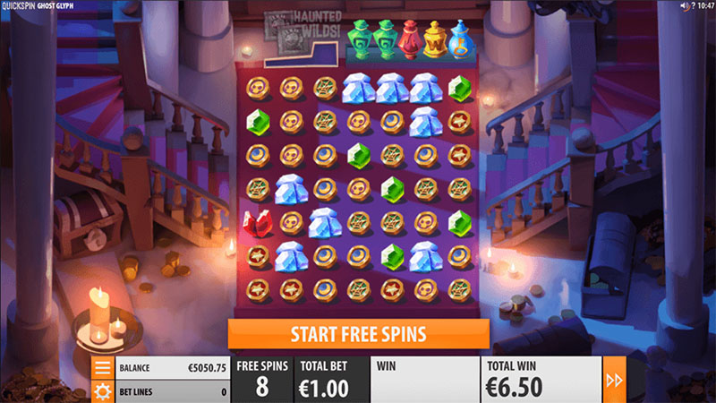 Quickspin telah meluncurkan mesin slot dalam Ghost Glyph - Norges.Casino