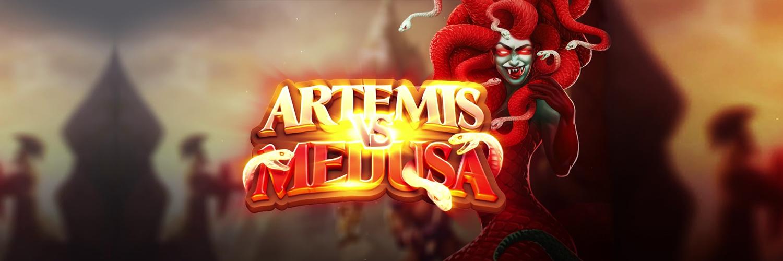 Quickspin lanserer spilleautomaten Artemis vs Medusa Banner
