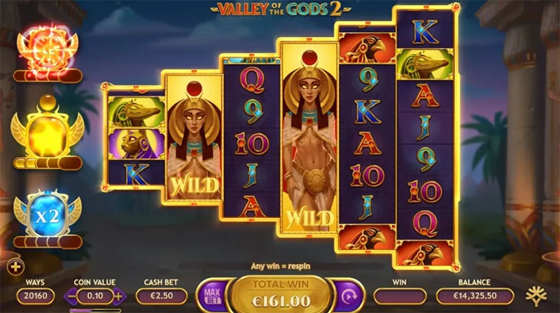 Spilleautomat med egyptisk tema i ny drakt inner - Norges.Casino