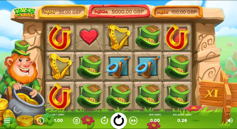 Spilleautomaten Irish Pot Luck fra NetEnt lanseres i dag inner - Norges.Casino