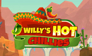 Test den nye spilleautomaten Willy's Hot Chillies Image