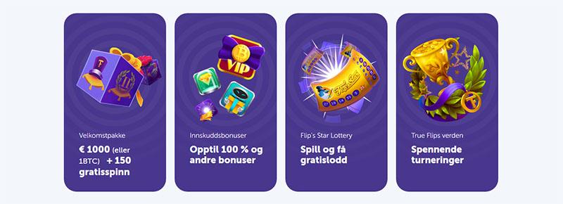 True Flip Casino Banner - Norges.Casino